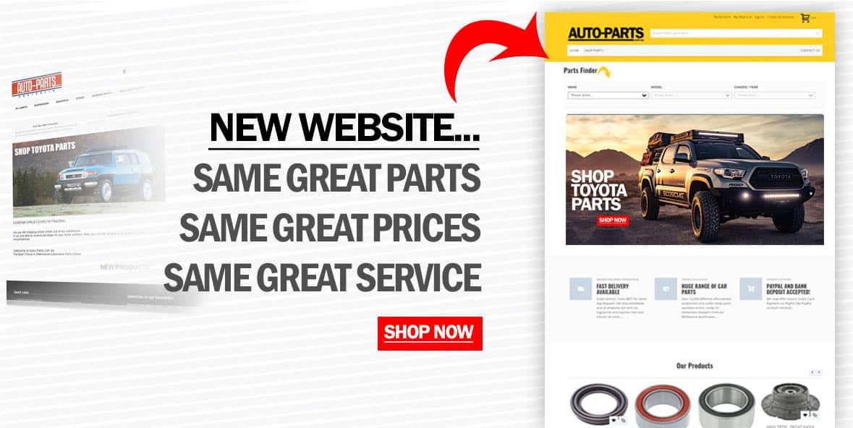 Shop Auto Parts Online